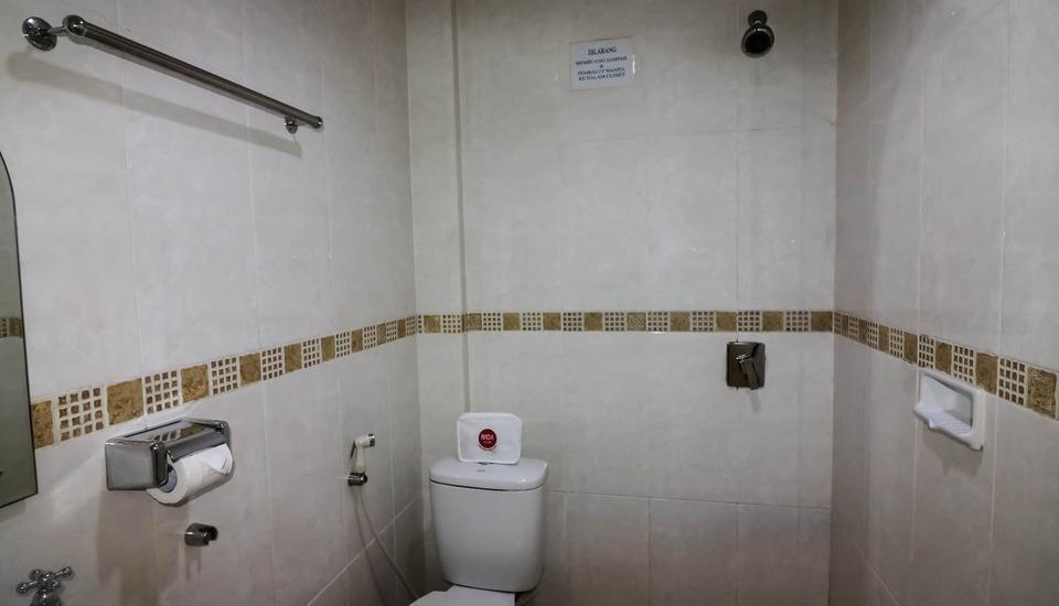 NIDA Rooms Mall SKA Pekanbaru - Kamar mandi