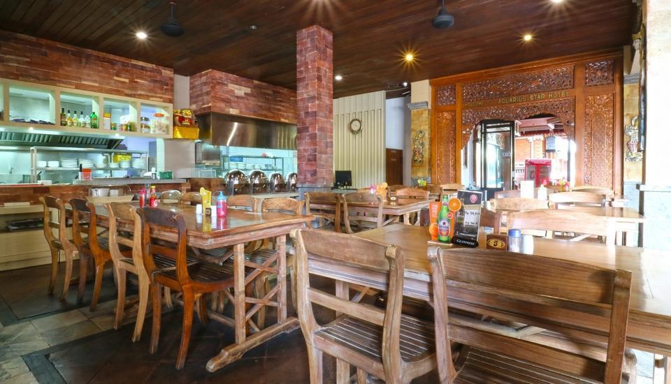 Aquarius Star Hotel Kuta - Restaurant