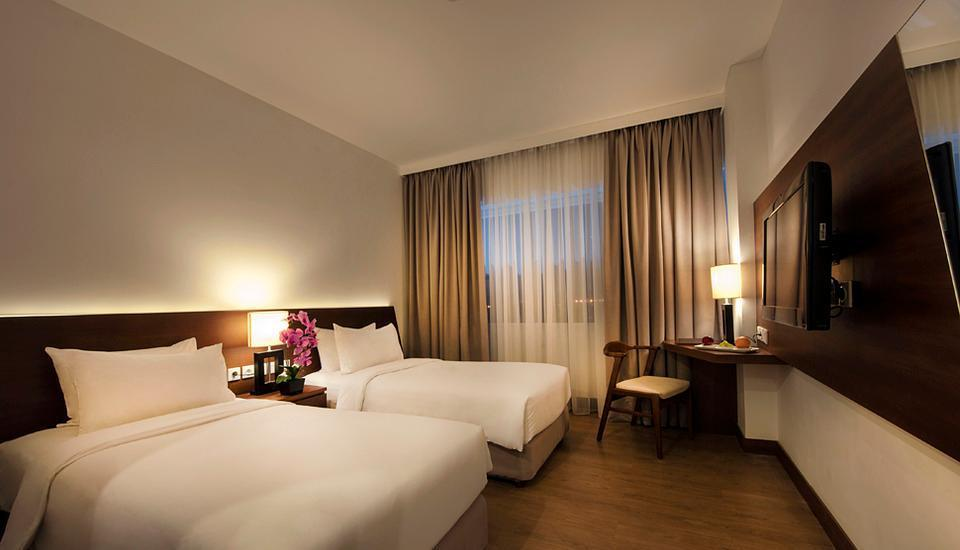 ALLIUM Tangerang Hotel Tangerang - Deluxe Twin With Breakfast Regular Plan