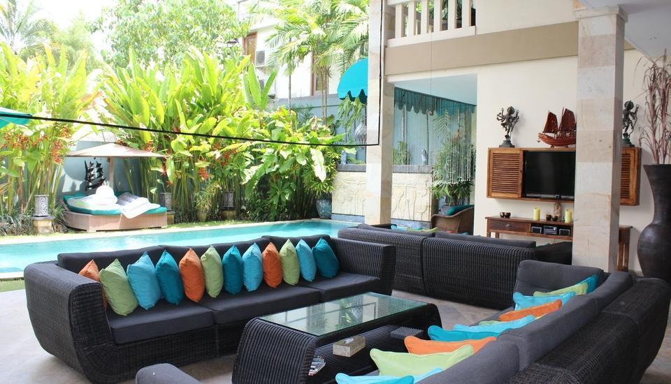 Bali Mystique Hotel Bali - Ruang Tamu Villa
