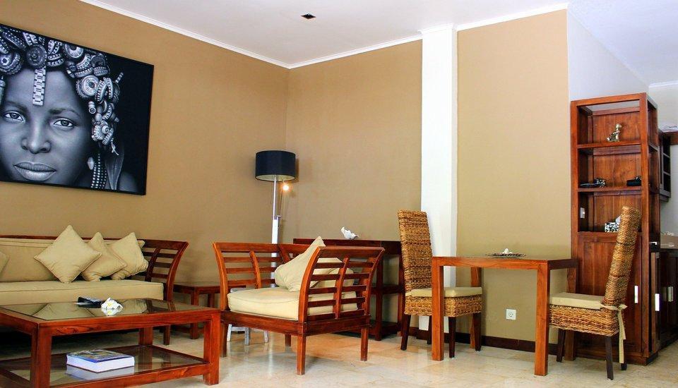 Bali Mystique Hotel Bali - Ruang Tamu Apartment satu kamar