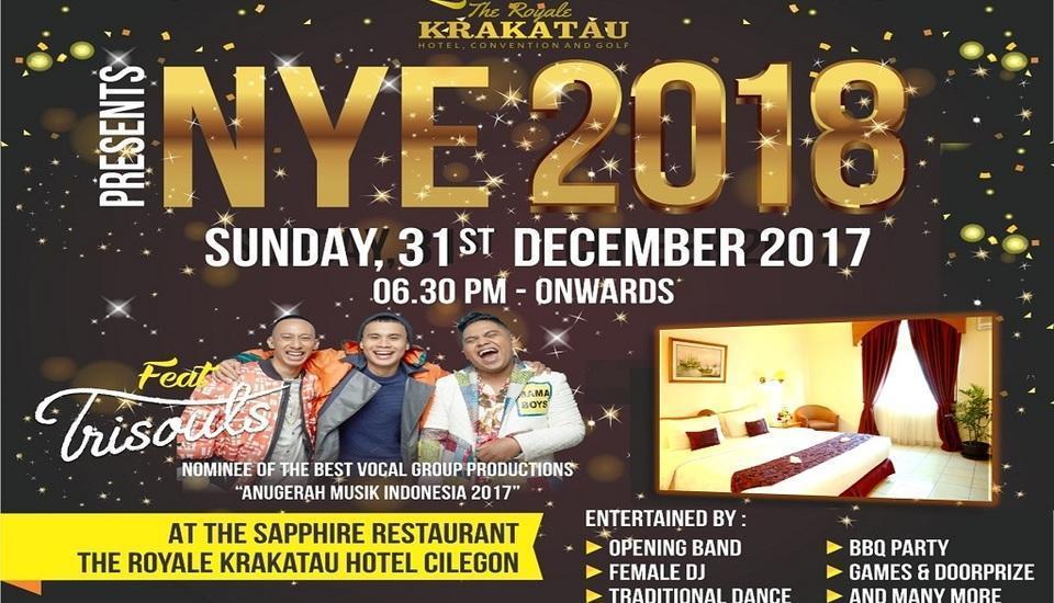 The Royale Krakatau Hotel Cilegon - Promo NYE 2018