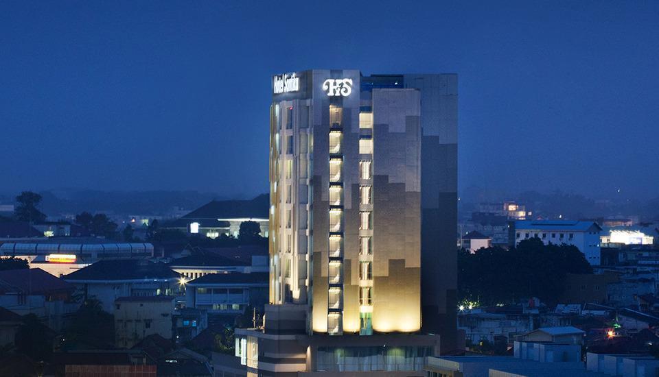 Hotel Santika Radial Palembang - Bangunan