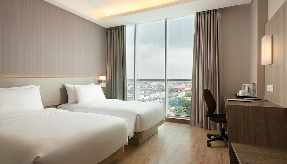 Hotel Santika Radial Palembang - Superior Room Twin Escape Promo Regular Plan