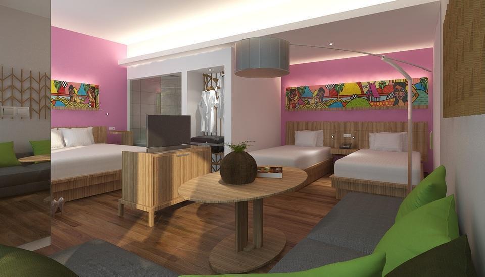 MaxOneSuites at Kuta Tuban - Love Room