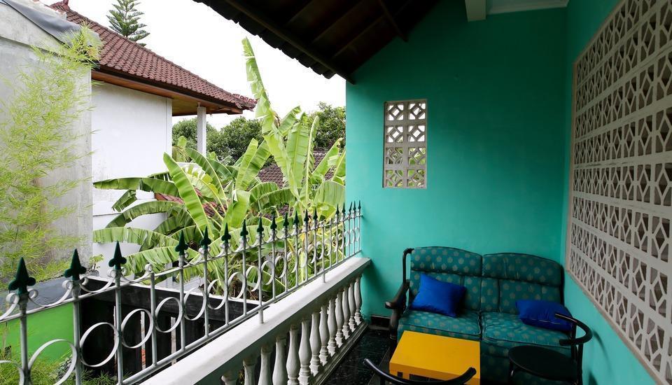 Morotai Camp Hostel Bali - Balkoni