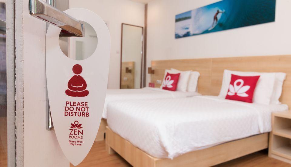 ZEN Villa Gili Trawangan Kepiting Lombok - Kamar Tidur Double