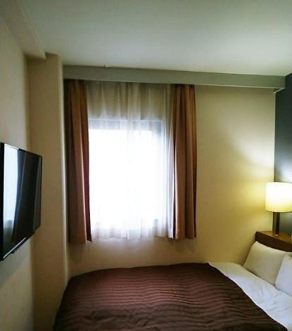 Ueno First City Hotel Tokyo - Kamar Double Basic, 1 Tempat Tidur Double, non-smoking, lemari es Regular Plan