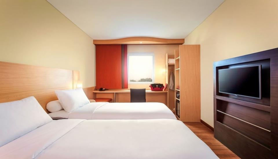 ibis Makassar City Center - Kamar Standar, 2 tempat tidur single Regular Plan