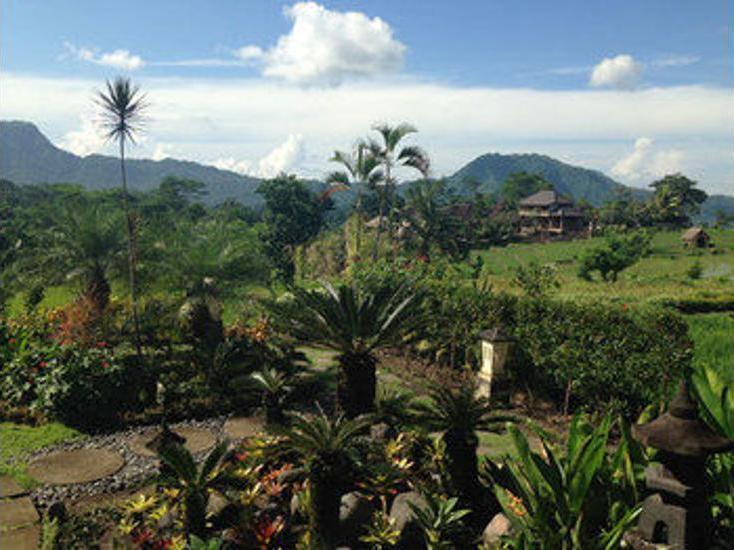 Sawah Indah Villa Bali - View from Hotel