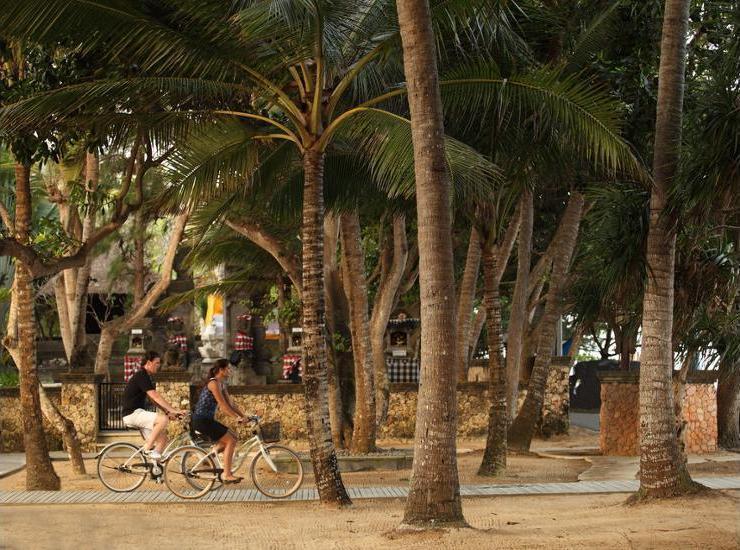 Puri Santrian Bali - Bicycling