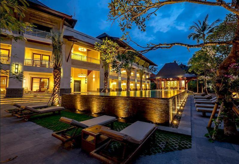 Puri Santrian Bali - Guestroom View