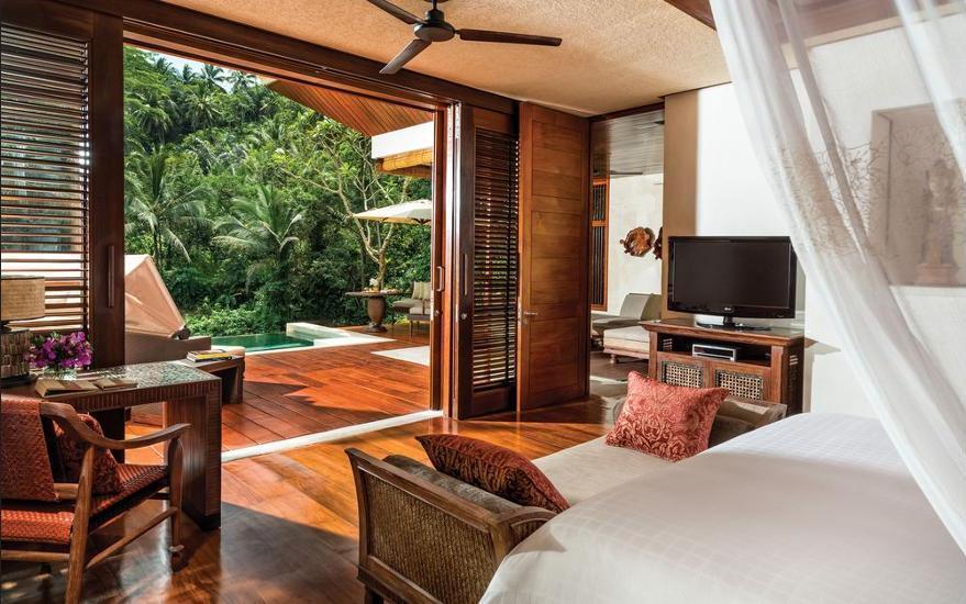 Four Seasons Sayan - Vila, 1 Tempat Tidur King (Riverfront) Regular Plan