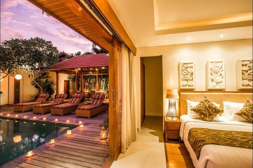 Villa Seriska Dua Sanur Bali - Living Area