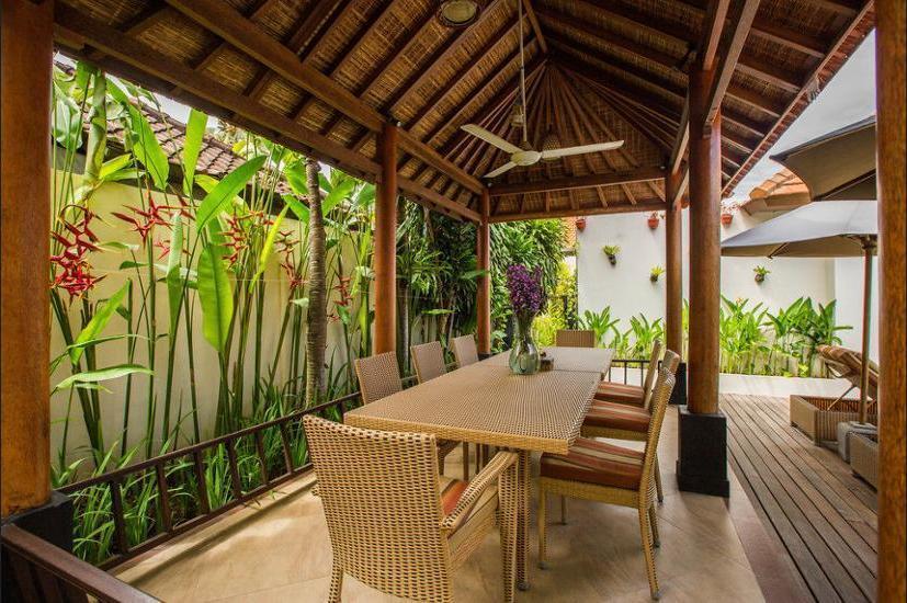 Villa Seriska Dua Sanur Bali - Dining