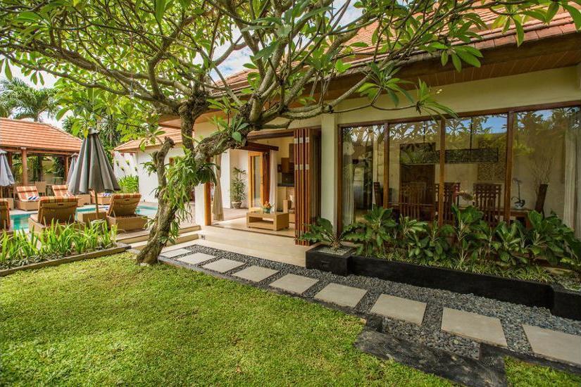 Villa Seriska Dua Sanur Bali - Property Grounds