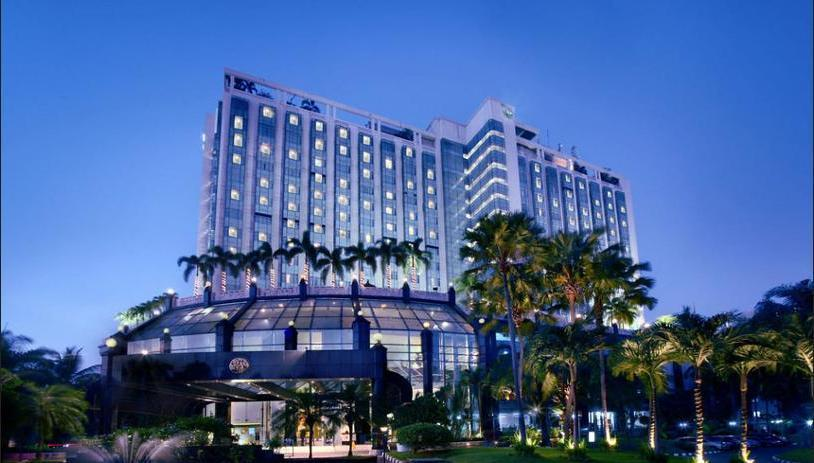 The Media Hotel and Towers Jakarta - Hotel Front - Evening/Night