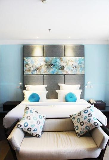 Novotel Nusa Dua Bali - Kamar Deluks, 1 Tempat Tidur King, balkon, pemandangan kolam renang Regular Plan