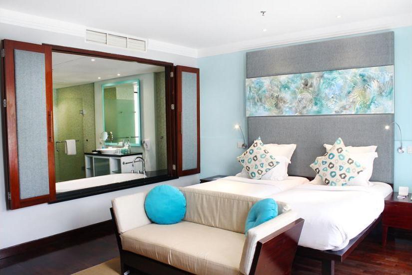 Novotel Nusa Dua Bali - Kamar Deluks, 2 Tempat Tidur Twin, balkon, pemandangan kolam renang Regular Plan