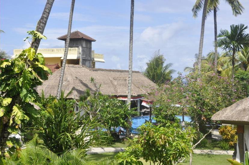 Bayshore Villas Candi Dasa - Aerial View
