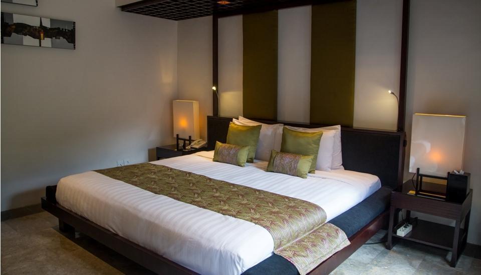 Villa Air Bali Seminyak - Bamboo Bedroom