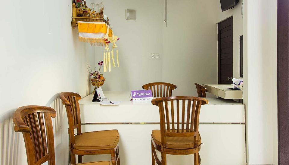 Kubu Andrey Rooms and Villas Seminyak - resepsionis