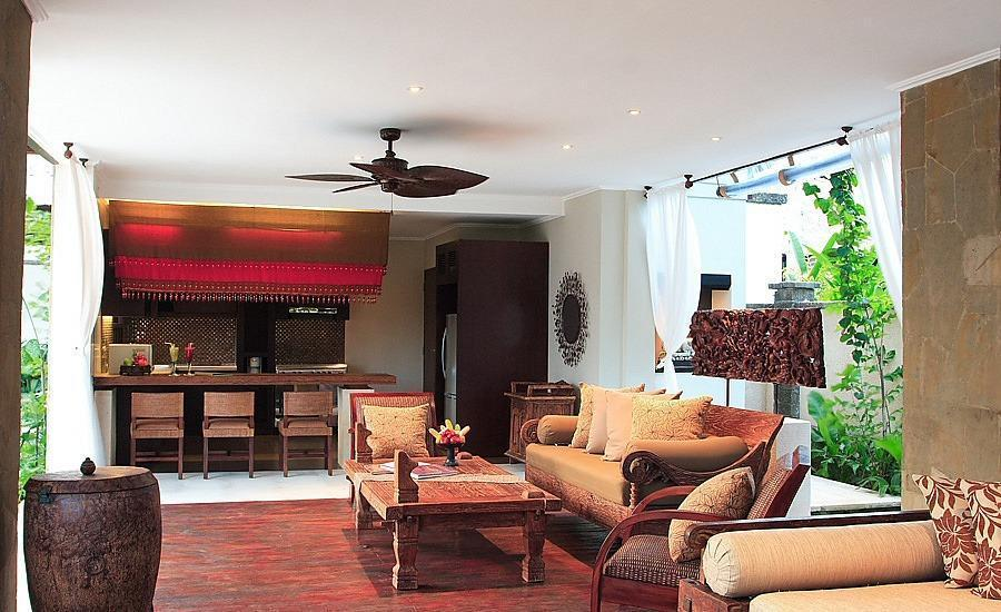 Villa Teresa Bali - Ruang tamu