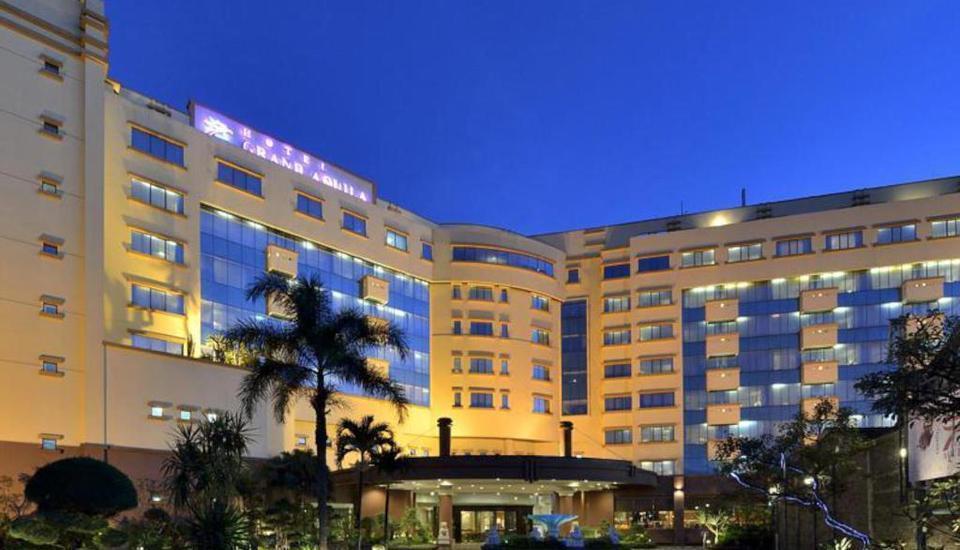 Hotel Grand Aquila Bandung - bangunan