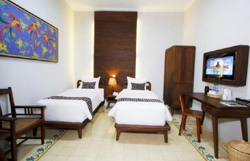 Joglo Mandapa Boutique Hotel And Resto Jogja - Deluxe Double Or Twin Room Only Regular Plan