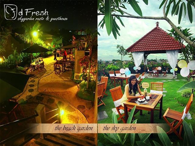 DFresh Guest House Malang - dfresh skygarden resto