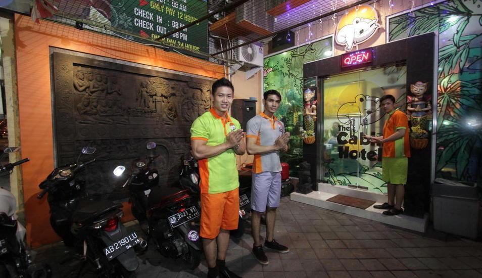 Cabin Hotel Jogja - Parkir