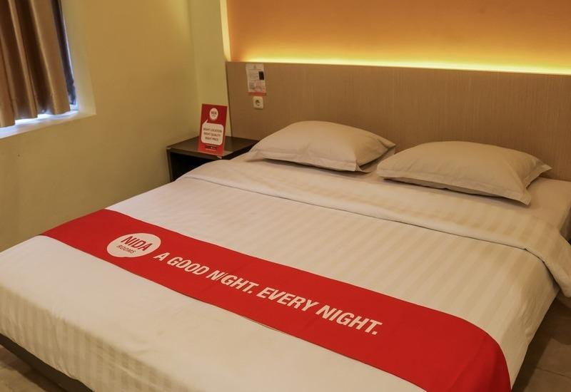 NIDA Rooms Cikudapateuh Station Antapani - Double Room Single Occupancy Special Promo