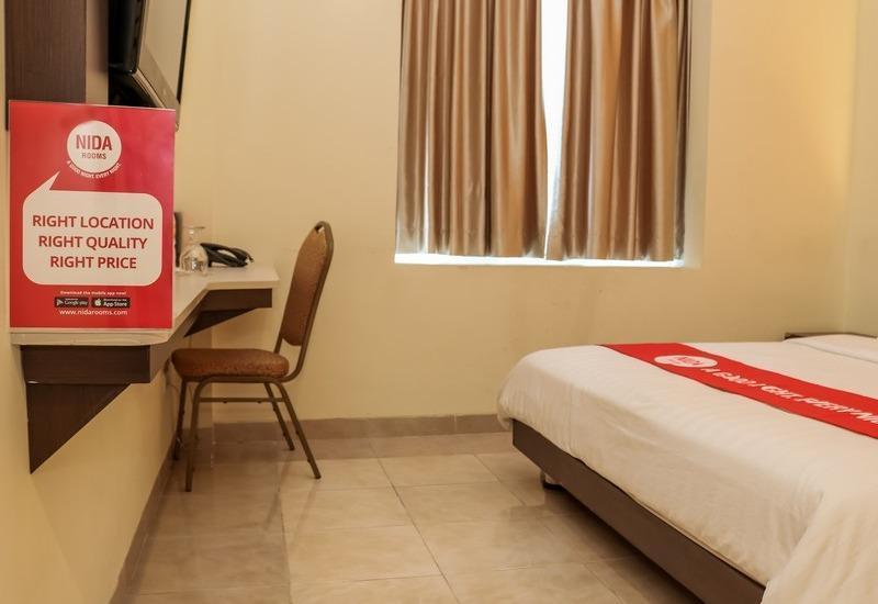 NIDA Rooms Cikudapateuh Station Antapani - Kamar tamu