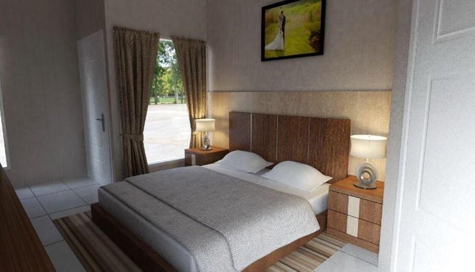 Maulana Hills Syariah Bandung - Deluxe Room (Lantai Bawah) Regular Plan