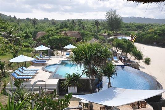 Dream Beach Huts Bali - Kolam Renang