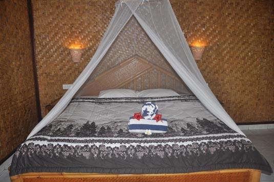 Dream Beach Huts Bali - Kamar Keluarga