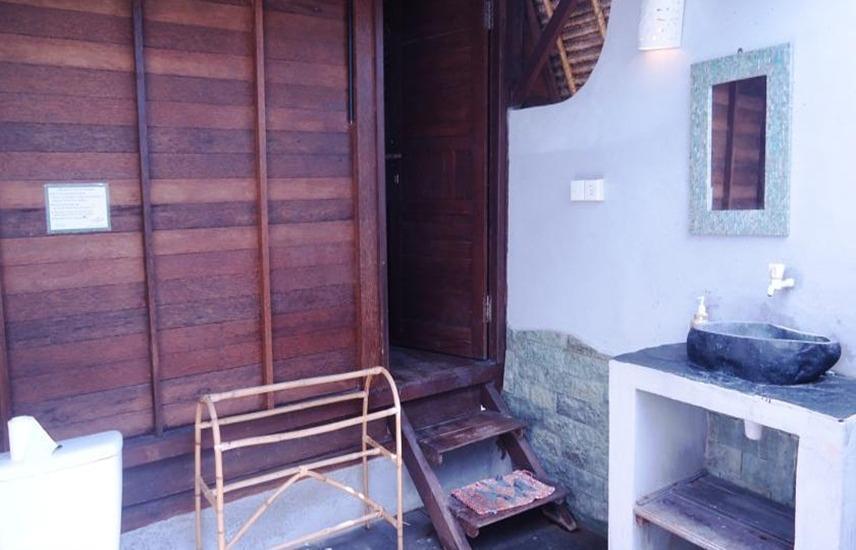 Dream Beach Huts Bali - Kamar mandi