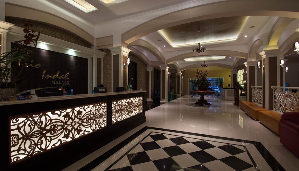 Hotel Trio Indah 2 Malang - lobi