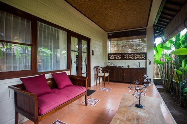 Munari Resort & Spa Ubud Bali - Teras deluxe