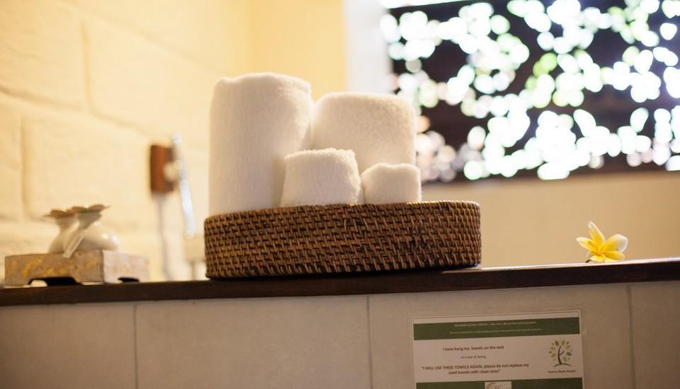 Munari Resort & Spa Ubud Bali - Perlengkapan mandi