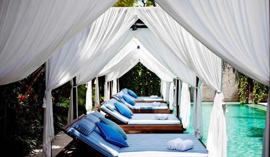 The Elysian Seminyak - Pool Cabana