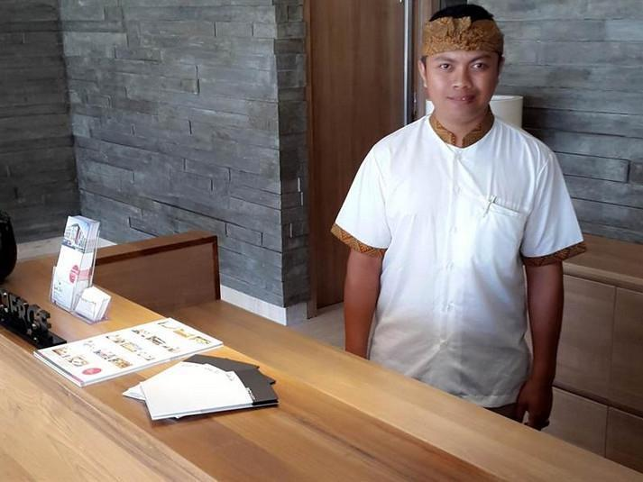 Grand Zuri Kuta Bali - Resepsionis