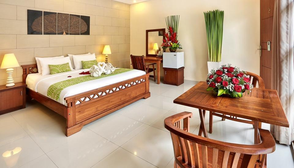 The Vie Villa Bali - Deluxe room with pool view
