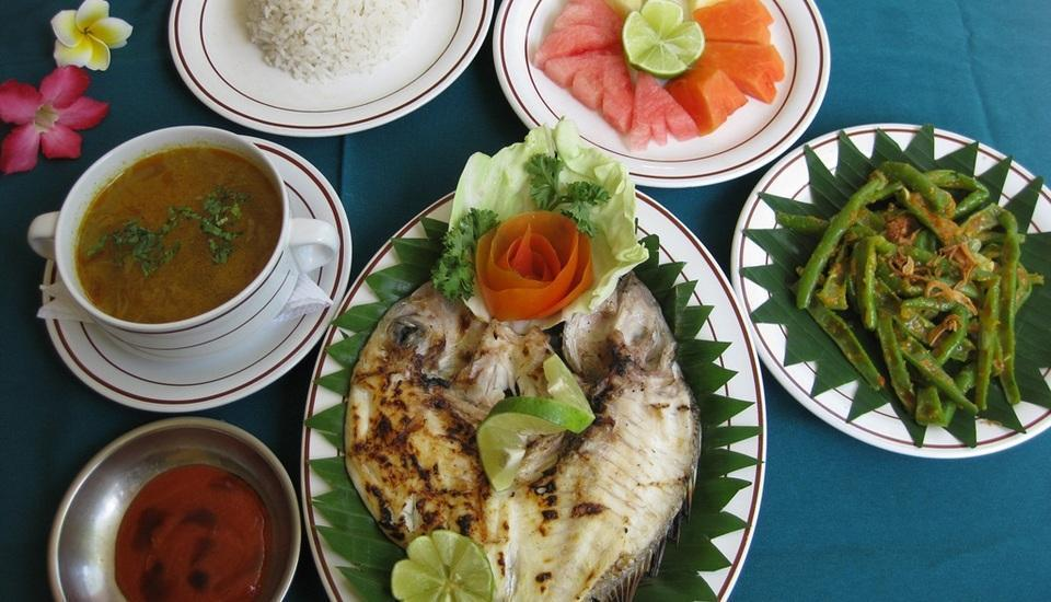 Sayang Maha Mertha Hotel Bali - Menu
