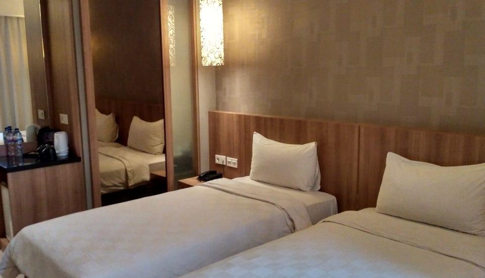 Hotel D'Anaya Bogor - Deluxe Dua Ranjang