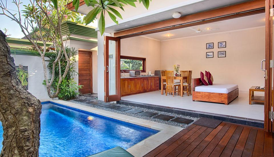 Villa Tukad Alit Bali - One Bedroom Villa Living