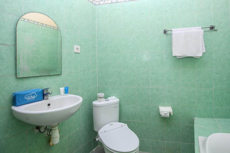 Airy Eco Legian Lebak Bene Kuta Bali - Bathroom_Double