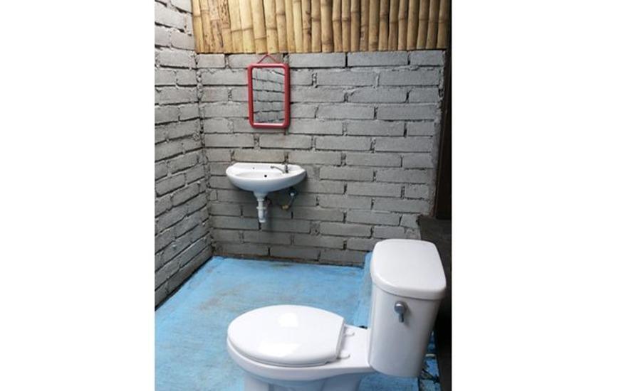 Mosaix Gili Bungalows Lombok - Kamar mandi