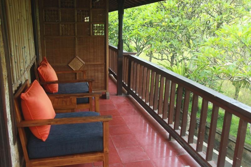 Jati Homestay Ubud - Balkon