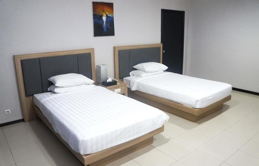 Hotel Kapuas Palace Pontianak Pontianak - Standard Twin Room Only Regular Plan